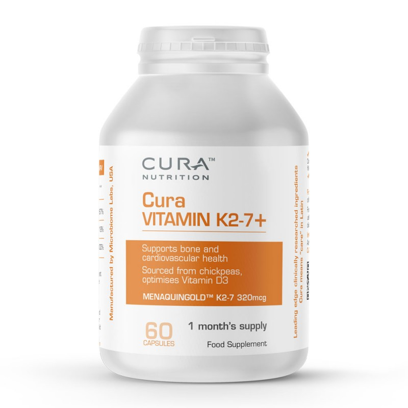 Cura Nutrition Cura Vitamin K2-7+ 60 Capsules