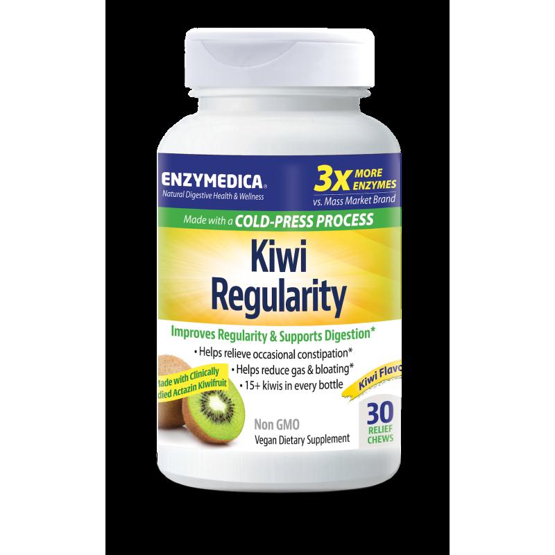 Enzymedica Kiwi Regularity 30 Chews