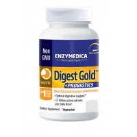 Enzymedica Digest Gold + Probiotics 45 Capsules Best Before 09/19