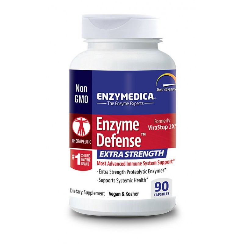 Enzymedica Enzyme Defense Extra Strength 90 Capsules