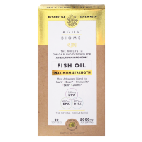 Aqua Biome Fish Oil Maximum Strength 120 Softgels
