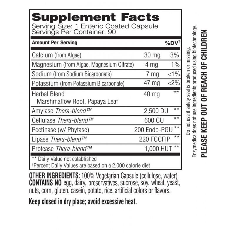Enzymedica pH-Basic 90 Capsules