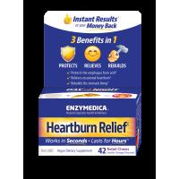 Enzymedica Heartburn Relief 42 Chewable Tablets