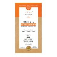 Aqua Biome Fish Oil Meriva Curcumin 22 Softgels
